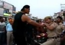The Real WWE with police on Road
