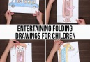 These drawings will entertain you and your children!