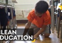 These Kids Clean Their Own Classrooms – And Have Fun Doing It