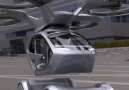 This concept vehicle goes from car to flying drone