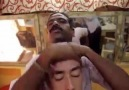 This Head massage is very strange !!