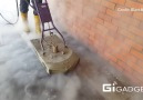 This pressure washing system is really hot.
