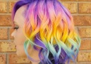 This salon based in Australia can put a rainbow anywhere on your head