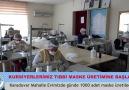 Tıbbi Maske Üretimine Başladık.Kültür... - T.C. Akdeniz Belediyesi