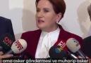 Tıbbıyeli Hikmet - Meral Akşener&Libya açıklaması Facebook