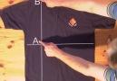 tişört katlama sanatı