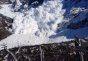 Tourists have close call with massive avalanche in Chile