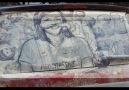 Tozlu Araba Camlarına Yapılan,HARİKA sokak sanatı..