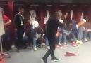 Trabzonspor - Bursaspor maçı soyunma odası