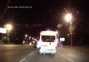 Trafikte tuhaf kavga