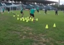 Training for speed with the ball