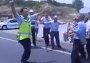 Trakya'da trafik cezası kesmek zor iş :D