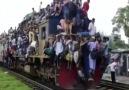 Tren geldi hadi binin