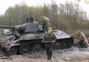 T-34 tank found in swamp a another one !
