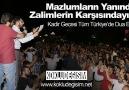 Tüm Türkiye'de Mazlumlar İçin Kunut Gerçekleştirdik