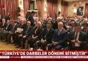 Türkiyede darbeler dönemi bitmiştir