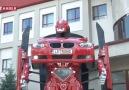 Türkiye'deki ilk robota dönüşen araba