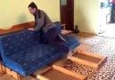 Türk mucit Hasan Amcadan İsviçre çakısı gibi mobilya
