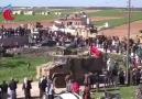 Türk Silahlı Kuvvetleri Yiğitlere dev bayraklı karşılama