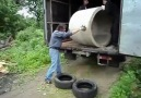 Unloading a Concrete Tube Fail lOl :D