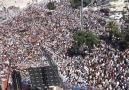 Urfa'da Yüzbinler adeta sel olup Topçu Meydanına aktı...