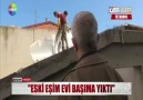 UYKUSUNDAN BALYOZ SESLERİYLE UYANDI..