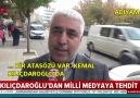 Vatandaş Kılıçdaroğlunun tehditlerine tepkili