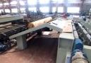 Veneer Peeling Lathe Instantly Turns Logs Into Sheets of Wood