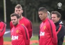 Video: Rojo's first training session