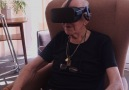 Virtual reality to help elderly people remember.