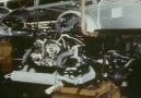 1973 Volkswagen Beetle üretim hattı