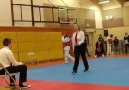 Watch the first kick in this sparring )