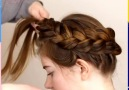 3 Ways to do a crown braid By &