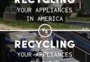 We can learn a lot from how they recycle old appliances in Japan.