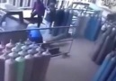 What Happens When A Pressurized Gas Cylinder Falls Over