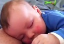 What this baby does in his sleep is the cutest thing ever!