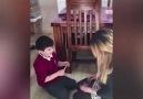 7 yaşındaki Mehmet annesinin hamile olduğunu öğrenince.