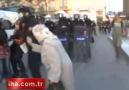 Yaşlı Teyzenin Eylemci Kadına Tepkisi