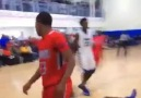 15 year old Seventh Woods with the Dunk of the Year!