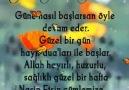Yeni Güne Bismillah...Mutlu Pazarlar..