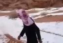 Yıllar Sonra Kar Gören Arap!