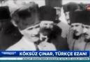 18 yıllık garabet: Türkçe ezan.