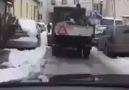 Yol'u tuzlayan belediye çalışanının yol'a tansiyon hastası mua...