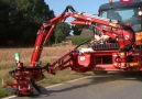 You can attach this powerful mower to municipal carrier vehicles