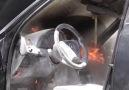 Yozgat Haberleri - Yozgat&Seyir Halindeki Otomobilde Yangın Facebook