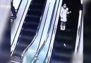 Yürüyen Merdivende Kaza