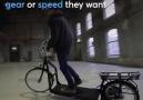 Yürüyüp bisiklet hızında gitmek