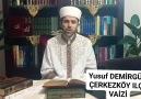 Yusuf DEMİRGÜL ÇERKEZKÖY ILÇE VAİZİ... - Cerkezkoymuftuluğu Çerkezköy