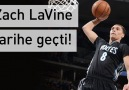Zach LaVine tarihe geçti!