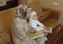 Zehra 3 yaşında 37 Sure biliyor MAŞALLAH.